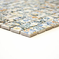 Fliesen Mosaik Mosaikfliesen Keramik Hexagon schwarz matt Küche Bad NEU 5mm #359