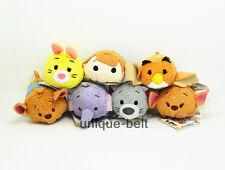 Winnie the Pooh' friends Robin Roo Owl Lumpy Kanga Gopher Tsum Tsum plush Toy