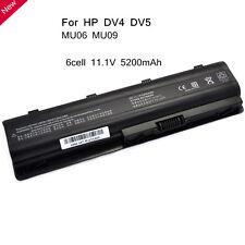 5200mAh MU06 Notebook Battery For HP Pavilion g7 593553-001 Presario CQ62 MU09