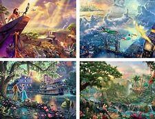 Ceaco Thomas Kinkade Disney 4-in-1 500 Pieces Jigsaw Puzzles