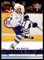 2007-08 Upper Deck Ian White RC . #246