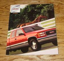 Original 1998 GMC Truck Sierra Sales Brochure 98