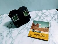 Vintage SAWYER MODEL Viewmaster View Master Black Bakelite Viewer Made in USA