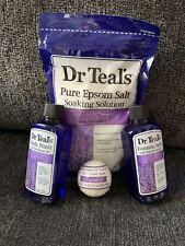Dr Teals Epsom Salt Set Bath Bomb Foaming Bath Body Wash With Soaking Salts