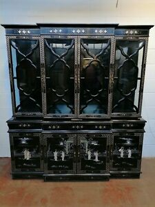 Grand Oriental Cabinet Sideboard Display Cabinet FREE MANCHESTER DELIVERY