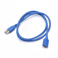 5FT 5Gbps 1.5m High Speed USB 3.0 A Male to Female Extension Cable Cord  JR