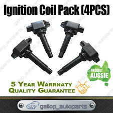 Set of 4 Ignition Coil for Mazda CX-3 DK CX-5 KE/KF 2.0L 2.5L Engine PE-VPS / PY