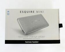 Harman Kardon Esquire Mini WHITE Portable Wireless Bluetooth Speaker NEW IN BOX!