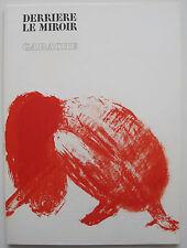 GARACHE: NUDE AKTE * DERRIÈRE LE MIROIR DLM 213: 10 ORIG.-FARBLITHOGRAPHIEN 1975