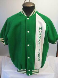 Antique Basketball Warm Up Jacket - Made of Fleece - Men's Large