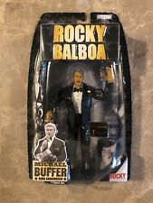 Michael Buffer Signed Rocky Balboa Action Figure