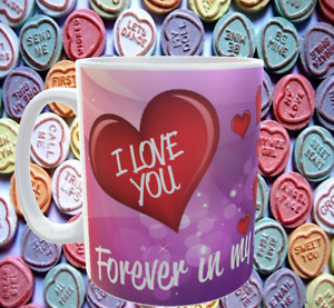 Forever in my heart photo  mug