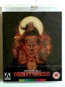NEW Nightbreed Bluray Horror Cult Clive Barker Craig Sheffer David Cronenberg