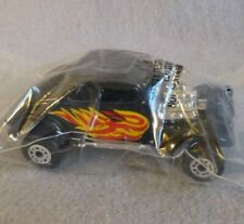 1982 Matchbox Car '33 Willy's Street Rod Black Flames Die Cast New in Plastic