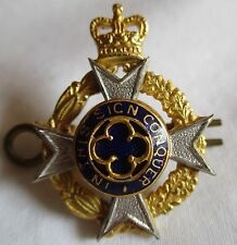 CANADIAN CHAPLAIN SERVICE CAP / COLLAR BADGE