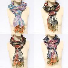 Womens Infinity Scarf Design Print Long Shawl Fashion New Accessorize Summer