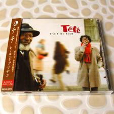 TeTe - L'Air De Rien JAPAN CD+3 Bonus Track W/OBI Mint FRANCE Chanson #AF04