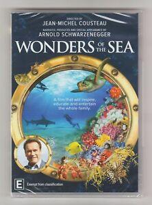 Wonders Of The Sea DVD (Arnold Schwarzenegger) - Brand New & Sealed
