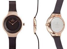 Luxury & Sports Women's Watch Obaku EKKO - Walnut v166lxvnmn