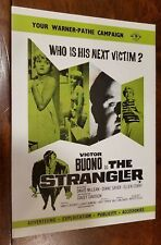 The Strangler - British Campaign Sheet - Victor Buono