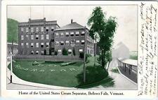 BELLOWS FALLS, VT Vermont    US CREAM SEPARATOR Factory    c1900s    Postcard