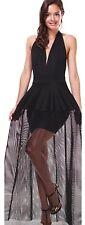Symphony Red Carpet Black Dress See True Unique On Sale Size S M L