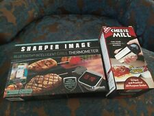 New listing Intelligent Grill Thermometer Sharper Image with Bluetooth Nib & cheese mill
