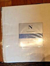Natori Liquid Cotton Premium Full / Queen Bed Blanket Cream New In Pouch