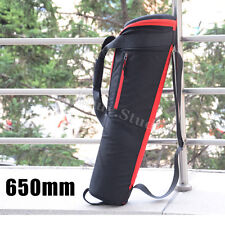 650mm Nylon Padded Camera Tripod Bag Carrying Travel Case For Manfrotto Velbon