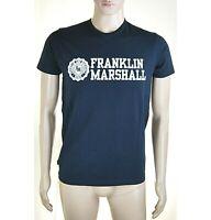 T-Shirt Maglietta Uomo FRANKLIN & MARSHALL Made in Italy I663 Tg XS S