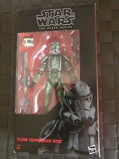 Star Wars The Black Series Clone Commander Gree. Rare Exclusive
