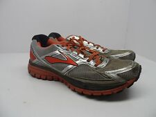 Brooks Men's Ghost 8 GTX Trail Running Shoes Silver/Orange/Black SIze 11.5M