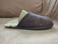Ladies Ugg Scuff Slippers, Plum Colour, UK size 4