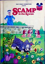 SCAMP TO THE RESCUE Lady&Tramp~ Vintage Disney's Wonderful World of Reading Book