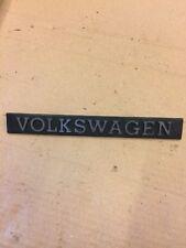 VW GOLF MK1 VOLKSWAGEN REAR BADGE 171853685A