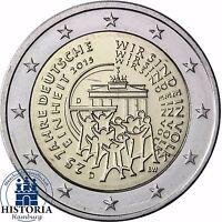 2 Euro 25 Jahre Deutsche Einheit Deutschland 2015 Stempelglanz Mzz D