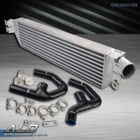 Twin Front Mount Intercooler Kit For VW GOLF MK5 MK6 GTI FSI JETTA 2.0T A3 TURBO