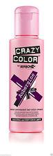 Crazy Color Semi Permanent Hair Dye 100ml. 50 Aubergine