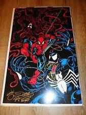 "Dire Wolf - Spider-Man/Venom Signed Comic Print - Laminated - 11"" x 17"""