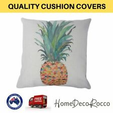 Pineapple Cotton Linen Cushion Cover Bed Sofa Throw Pillow Case