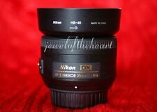 Nikon Nikkor 35mm AF-S 1.8 G Lens for D40 D60 D300 D3000 D3200 D3300 D5000 D5100