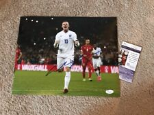 Wayne Rooney Manchester United Signed 11X14 ENGLAND WORLD CUP JSA CERTIFICATION!