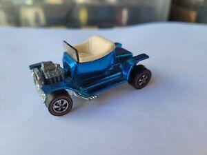 Hot Wheels 1968 REDLINES  - HOT HEAP [BLUE] EXCELLENT VHTF USA