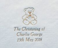 100 Personalised Christening/Baptism Napkins 33x33cm 2ply