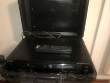 Working! Sony Mxd-D3 Compact Disc - Minidisc Recorder Deck With Remote & Case