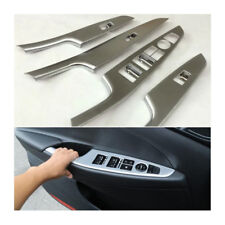 Chrome Door Window Switch Panel Cover Trim For Hyundai Tucson 2015-2017