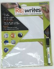 New Its Academic Re:Writes - 2 4x7 In White Notes 1 Dry Erase Marker