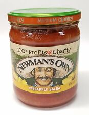 Newmans Own Salsa Pineapple, 16oz (1 count)