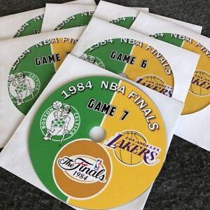 1984 NBA Finals LA Lakers vs. Boston Celtics DVD