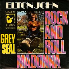"7"" Elton John – Rock And Roll Madonna // Germany 1970"